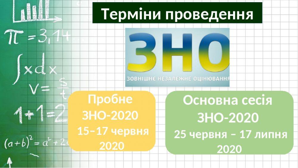 В Україні скасували пробне ЗНО