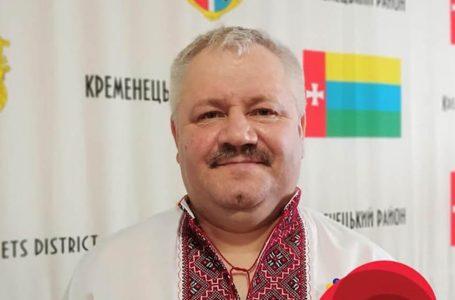 Від коронавірусу помер голова Кременецької районної ради