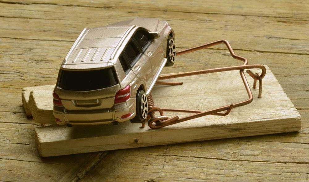 автомобільне шахрайство