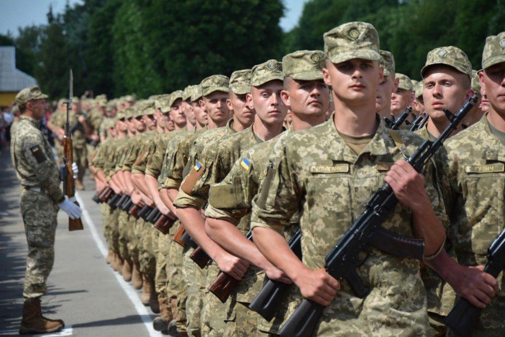 На Тернопільщині цього літа до війська покличуть 550 юнаків