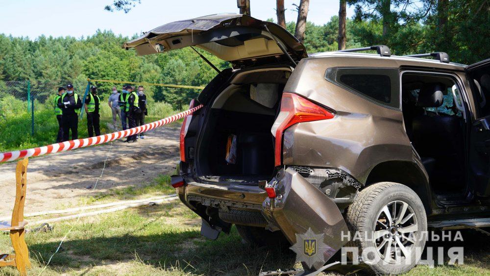 Внаслідок підриву автомобіля загинув бізнесмен, який займався видобутком гравію на Тернопільщині