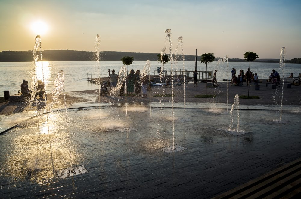 Місто фонтанів: усі водограї Тернополя. Частина 1 (ФОТО, ВІДЕО)