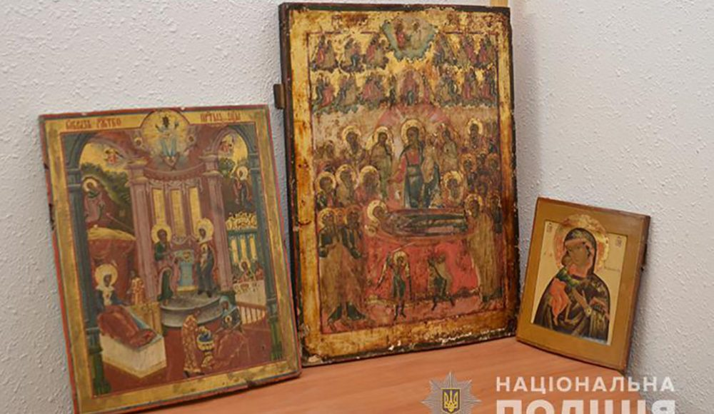 З Тернополя у храм на Хмельниччині повернули три вкрадені ікони (ФОТО)