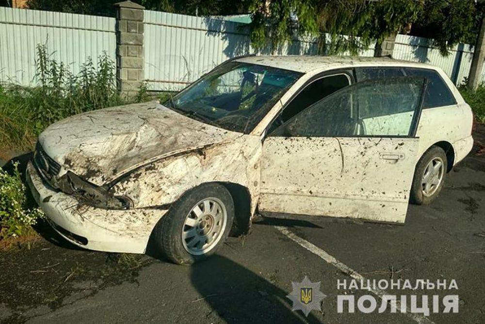 На трасі Тернопіль-Почаїв автомобіль Ауді злетів у кювет
