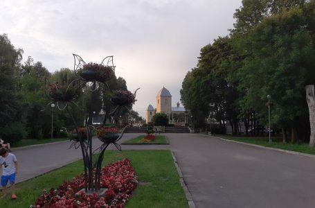 """Фото Тернополя: літній вечір у парку """"Топільче"""""""