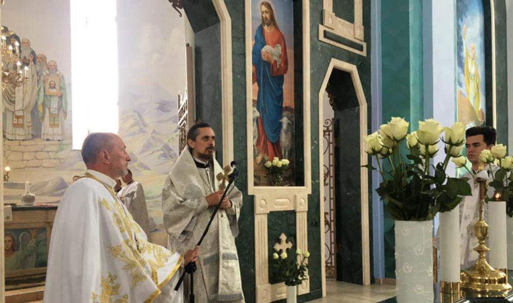 У Скалаті архієпископ Нестор освятив розписи храму Всіх Святих (ФОТО)