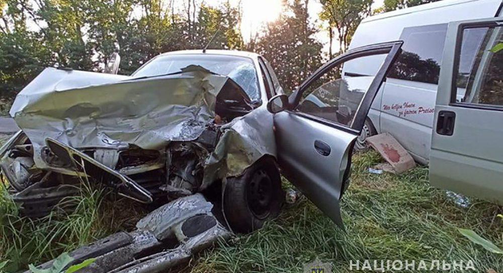 У Заліщицькому районі зіткнулися два автомобілі. Є травмовані (ФОТО)