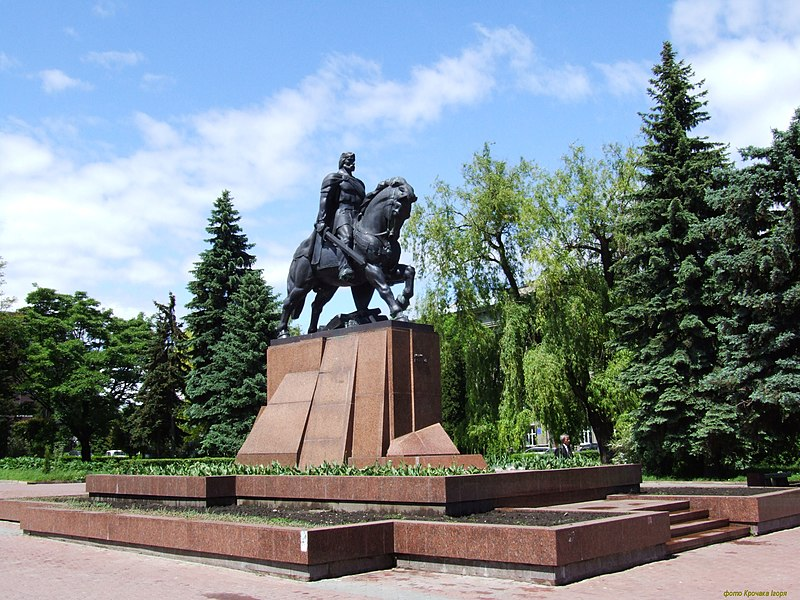 Пам'ятник Данилу Галицькому у Тернополі
