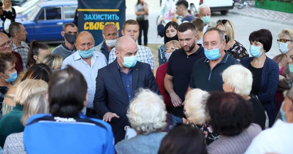 Сергій Надал зміг довести урядовцям, що тернополяни вміють відстоювати свої права, а Тернопіль не «червона зона»