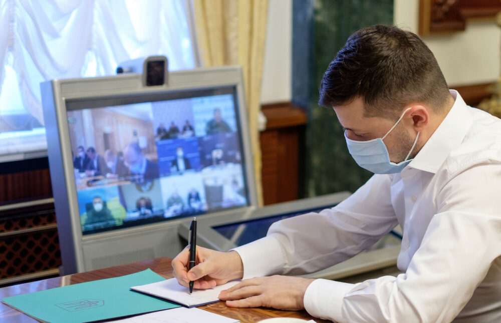 Володимир Зеленський заразився коронавірусом