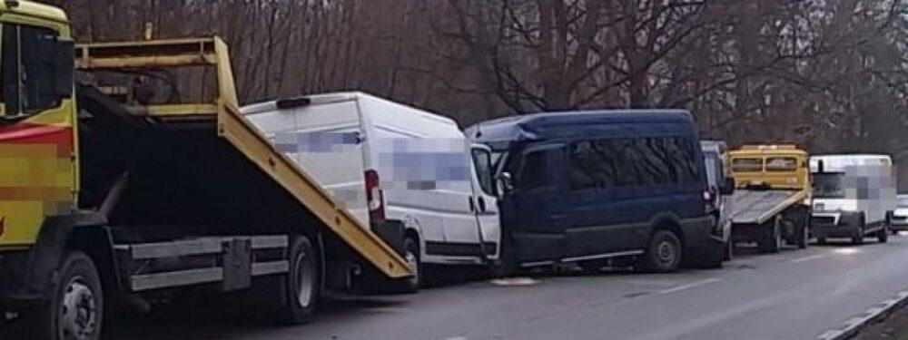 У Польщі зіткнулися три українських мікроавтобуси – один водій загинув