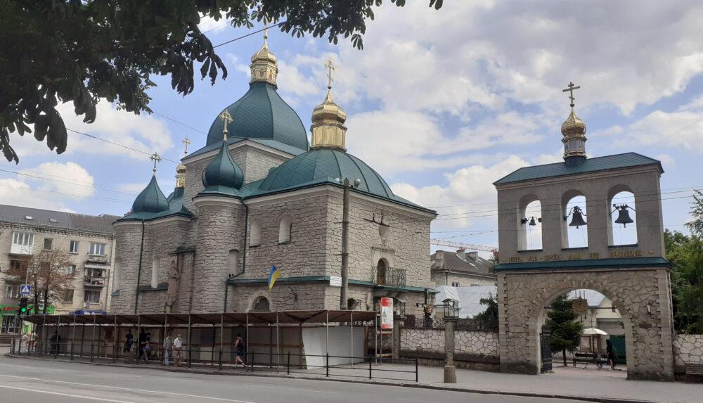 Собор Різдва Христового, або чим дивує «зелена церква» у Тернополі (ФОТО)