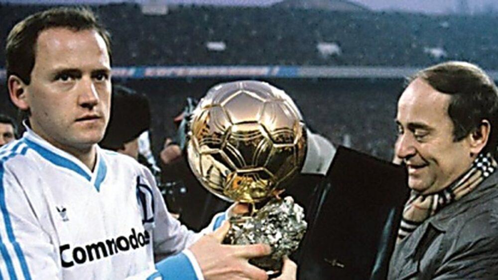 Легенди футболу: володар «Золотого м'яча» 1986 року Ігор Бєланов
