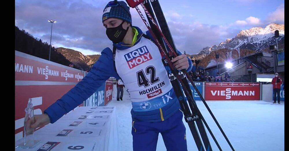 Найкращий результат сезону: Дмитро Підручний у спринті виборов квіти