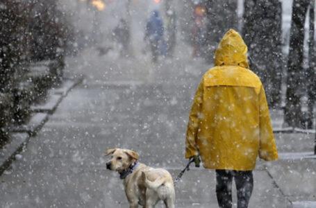 Погода на Тернопільщині 1 січня: дощ та мокрий сніг з приморозками