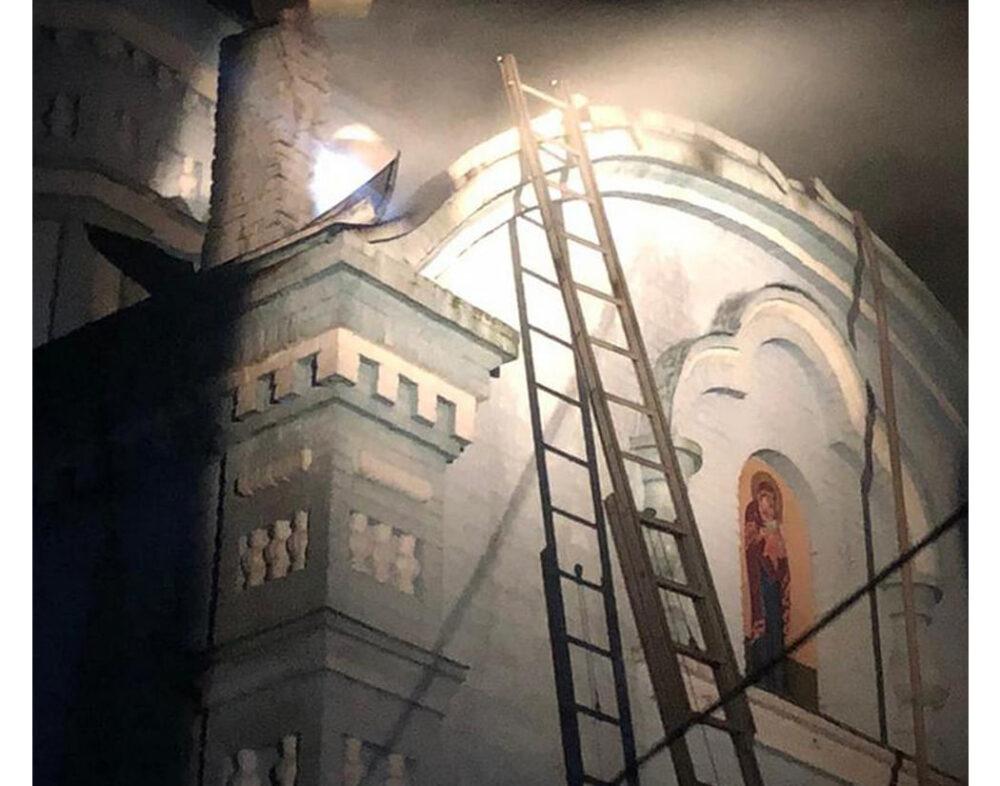 У Шумському районі від вогню врятували столітню церкву
