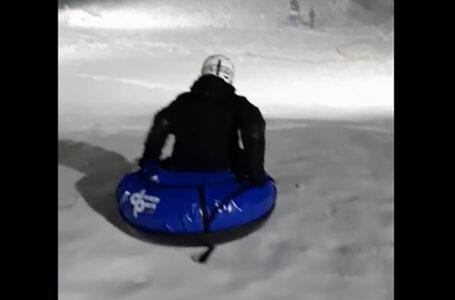 Для тернополян у Савич-парку приготували перші зимові розваги (ВІДЕО)