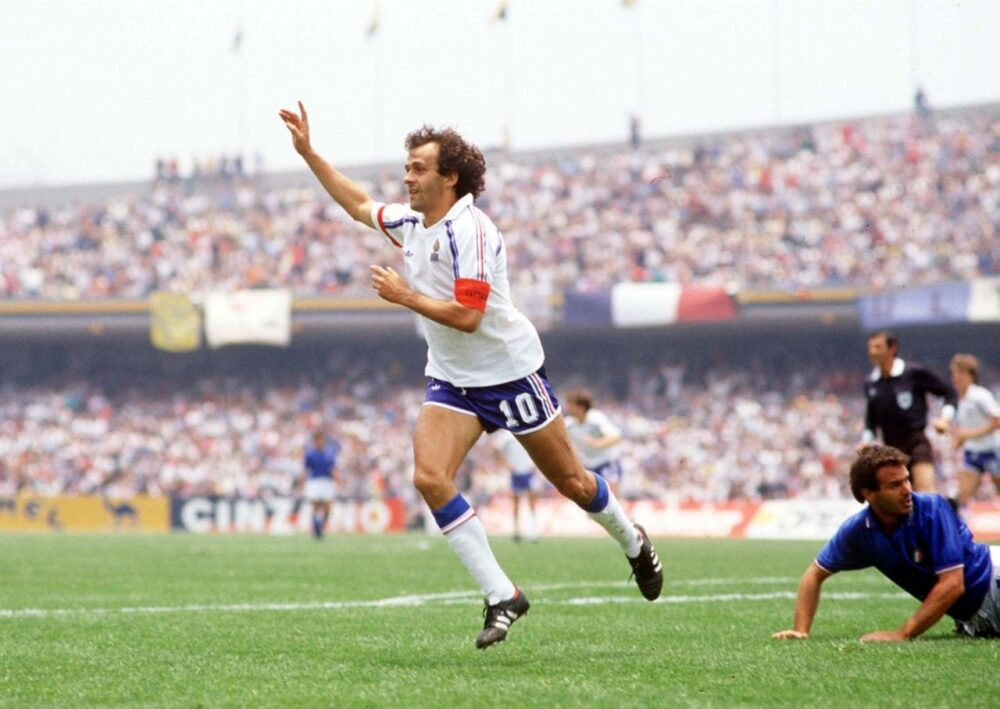 Легенди футболу: триразовий володар «Золотого м'яча» Мішель Платіні