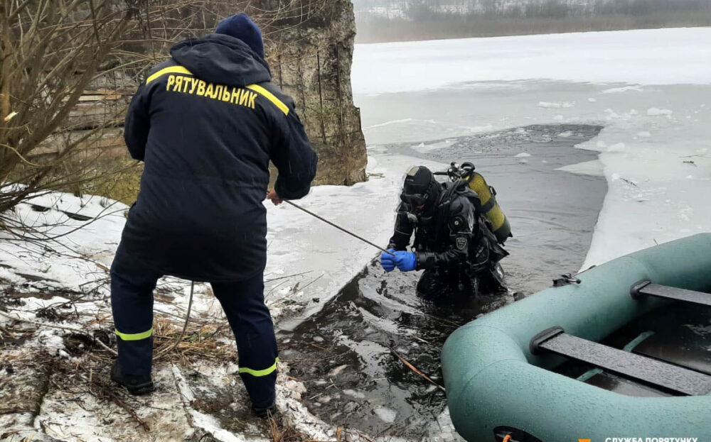 Провалився під лід: на Бережанщині загинув 28-річний чоловік (ФОТО)