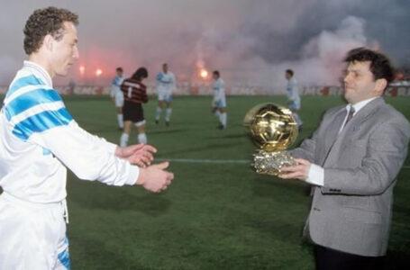 Легенди футболу: володар «Золотого м'яча» 1991 року Жан-П'єр Папен