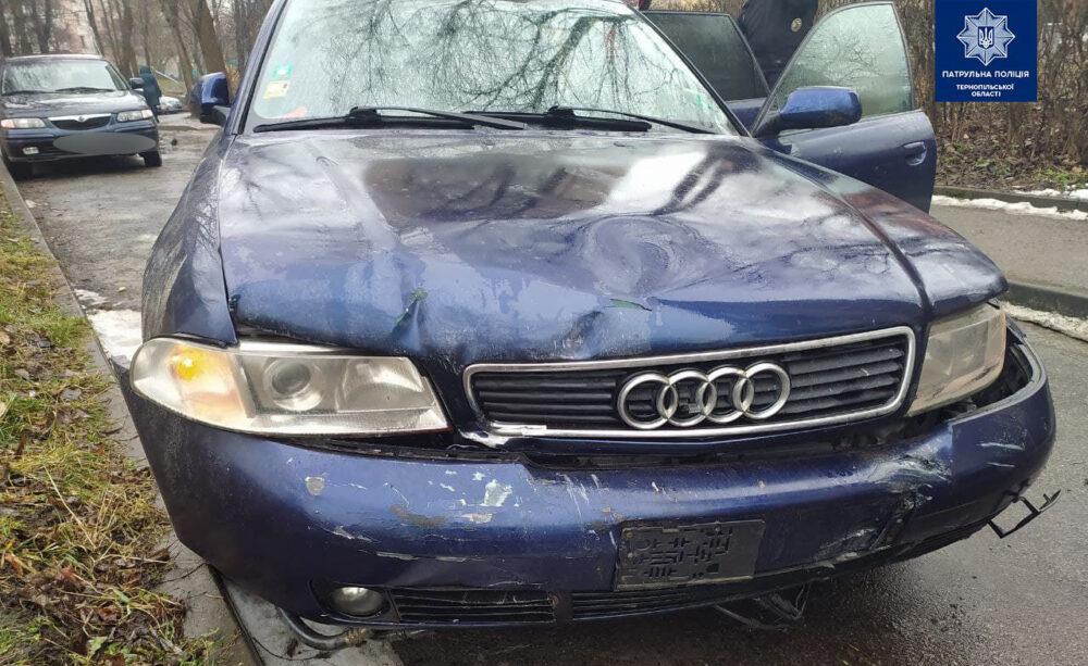 У Тернополі п'яний водій скоїв ДТП – потрощив три автомобілі і втік (ФОТО)