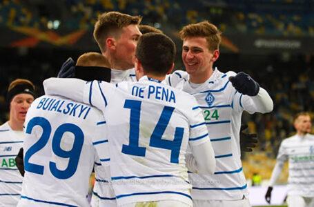 Динамо в гостях перемогло Брюгге і вийшло в 1/8 фіналу Ліги Європи (ВІДЕО)