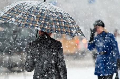 Погода на Тернопільщині у перший день весни: дощ із мокрим снігом