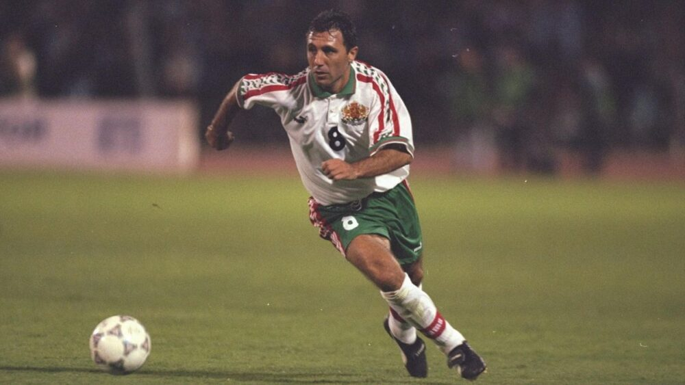 Легенди футболу: володар «Золотого м'яча» 1994 року Христо Стоїчков