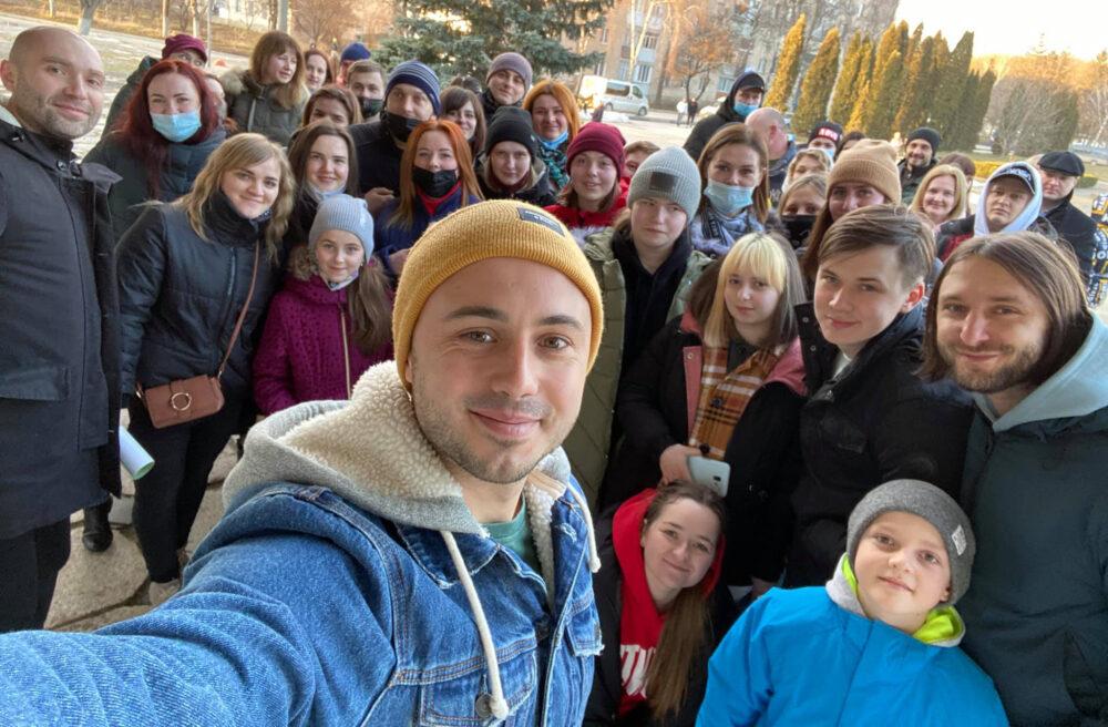 Через аварійну сцену гурт Антитіла скасував концерт на Чортківщині (ФОТО, ВІДЕО)