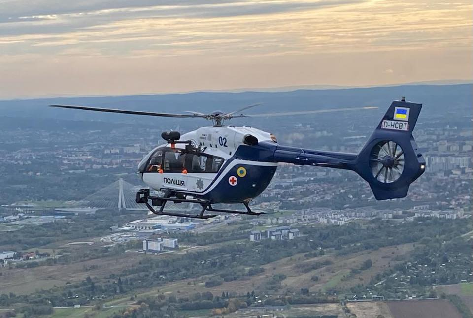медичний гелікоптер