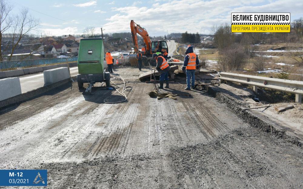У Підгородньому розпочали ремонт дороги Тернопіль-Бережани (ФОТО)