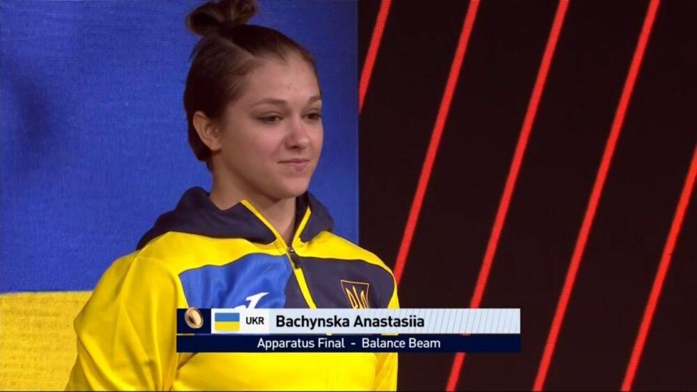 Тернополянка Анастасія Бачинська виграла бронзову медаль на чемпіонаті Європи