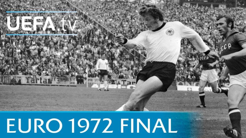 На шляху до Євро'2021: четвертий чемпіонат Європи — 1972 рік