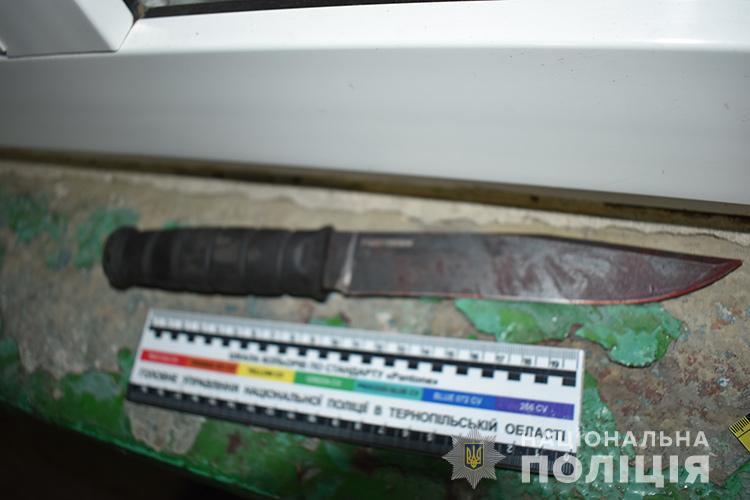 Глещава, ніж, вбивство
