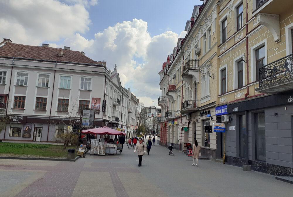 Тернопіль, вул. Сагайдачного