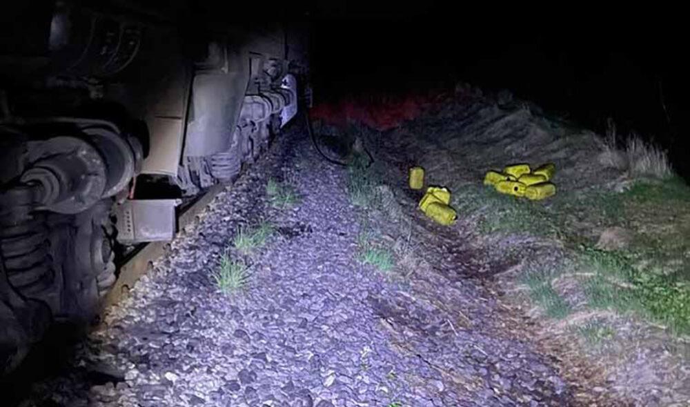 Поїзд далі не їде: під Тернополем спіймали водія тепловоза, який зливав із баків пальне