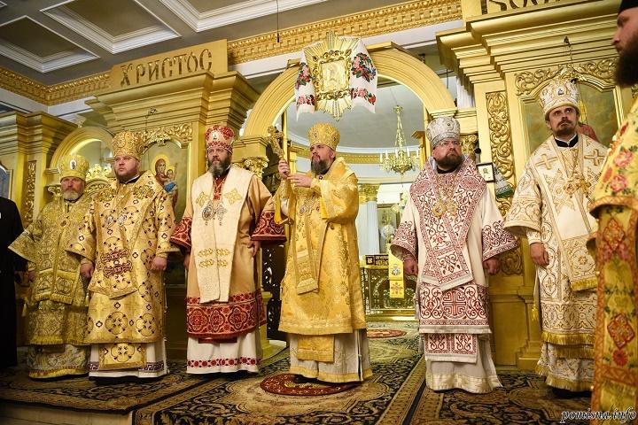 освячення Покровського храму, Епіфаній