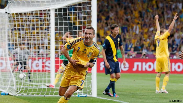 Андрій Шевченко на Євро-2012