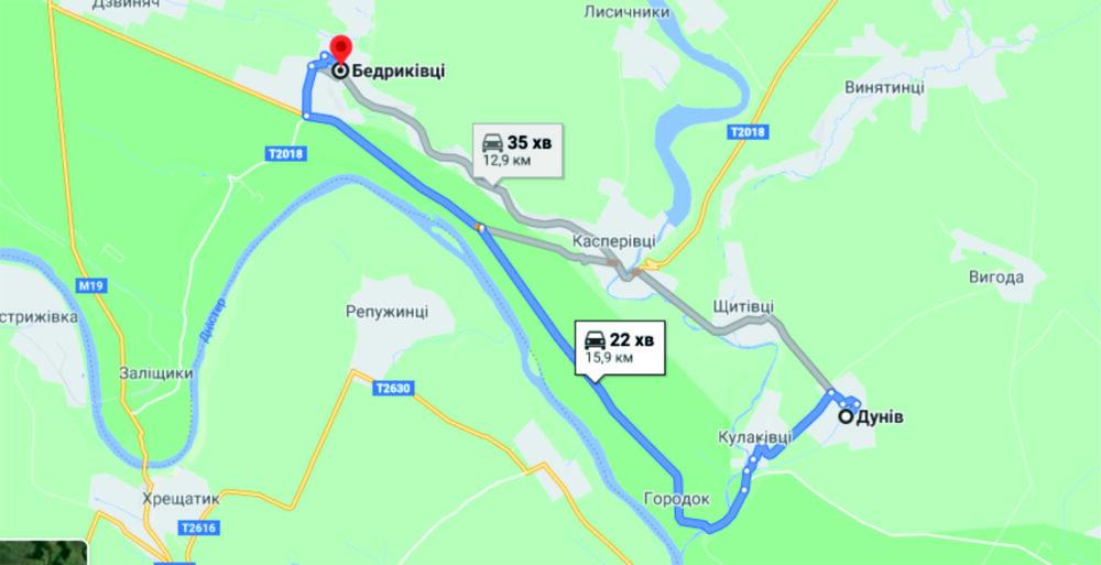 Визначено переможця тендеру на ремонт дороги Дунів-Бедриківці