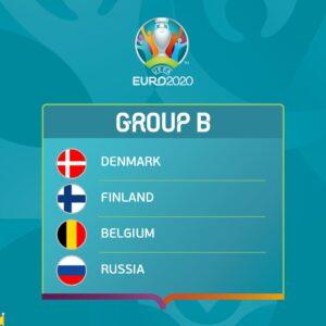 Євро-2020, група В, Росія, Бельгія