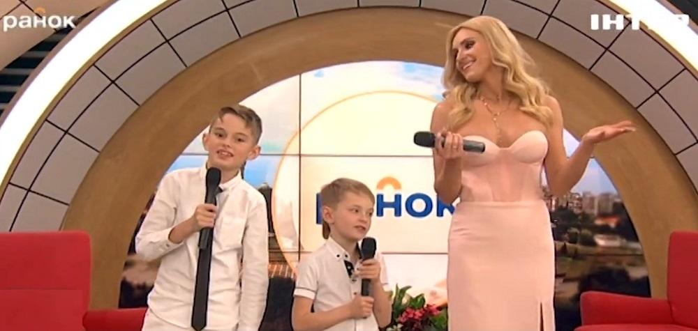 Ірина Федишин з синами