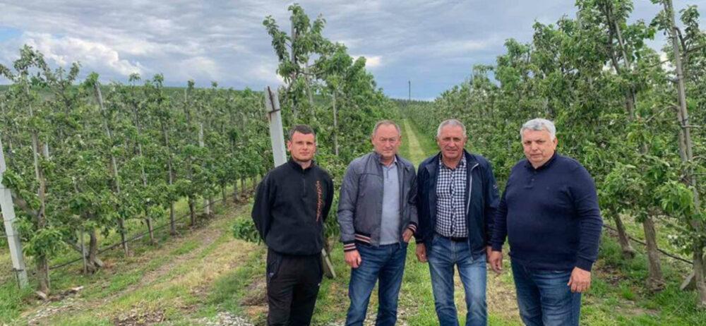 """ФГ """"Гадз"""" відвідали керівники """"Укрсадпром"""""""