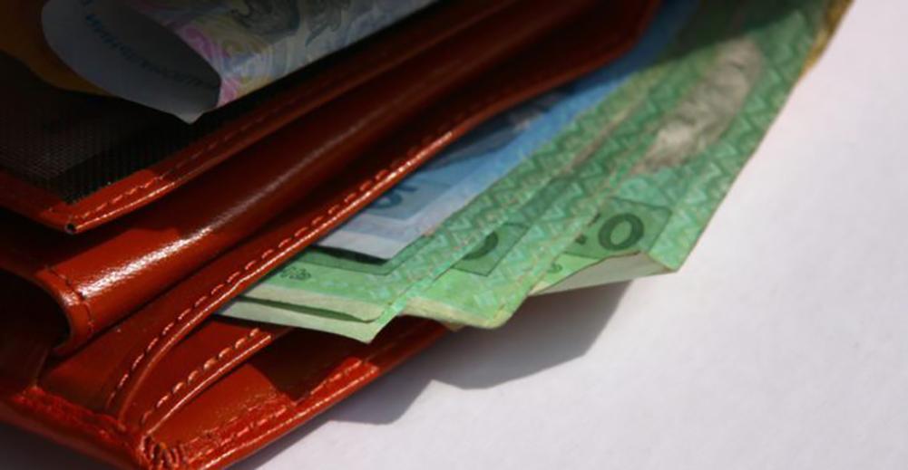 гаманець, гроші