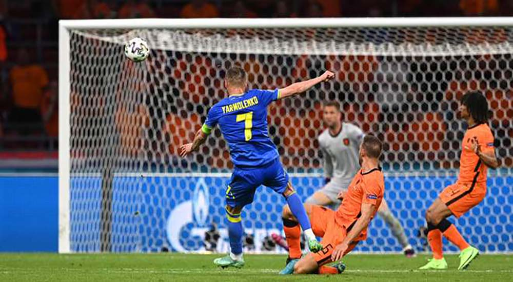 Нідерланди – Україна, гол Ярмоленка