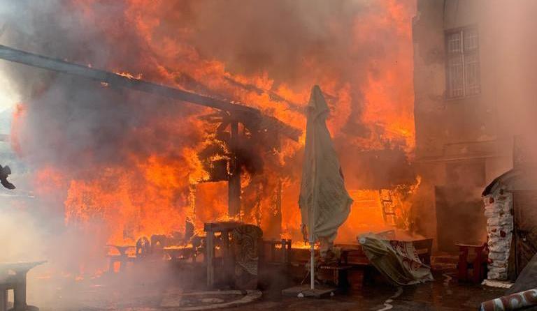 новини Тернополя, бар Коловорот, пожежа