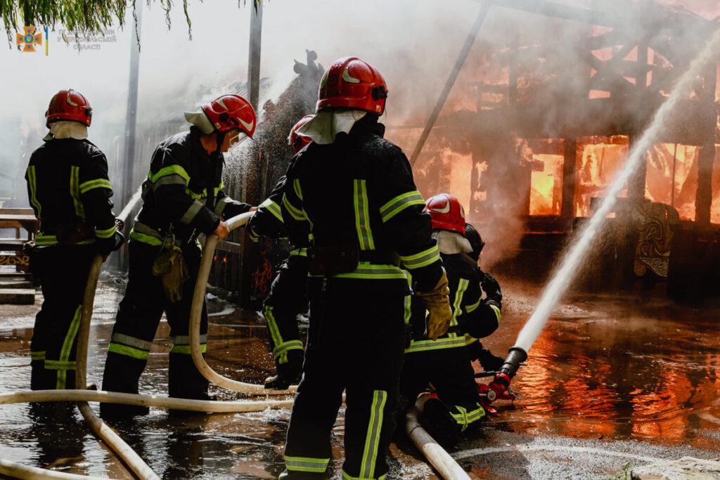 новини Тернополя, пожежа, Коловорот