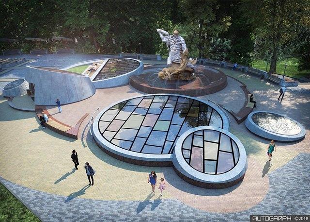 Рівне, парк ім. Шевченка