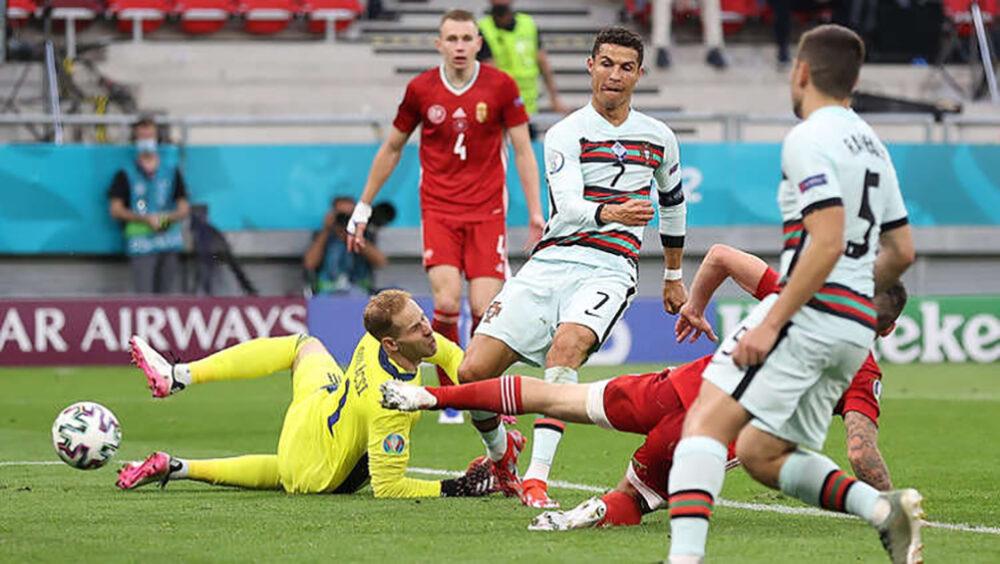 гол Роналду на Євро-2020