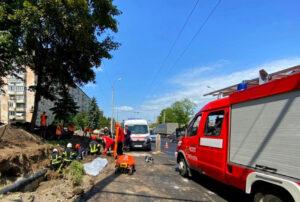 новини Тернополя, обвал грунту, загинув робітник