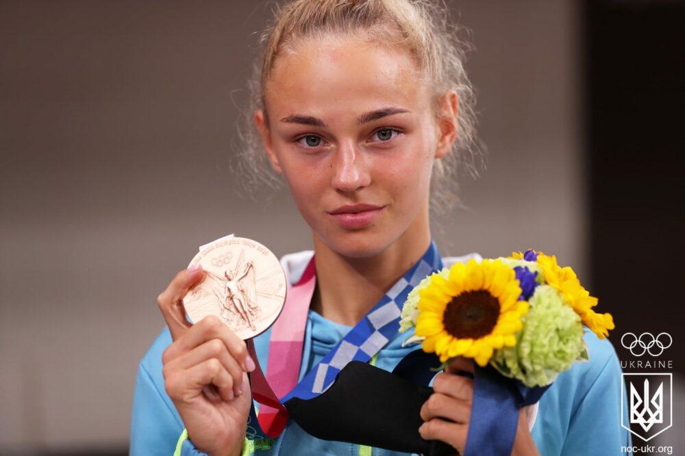 Дар'я Білодід, медаль